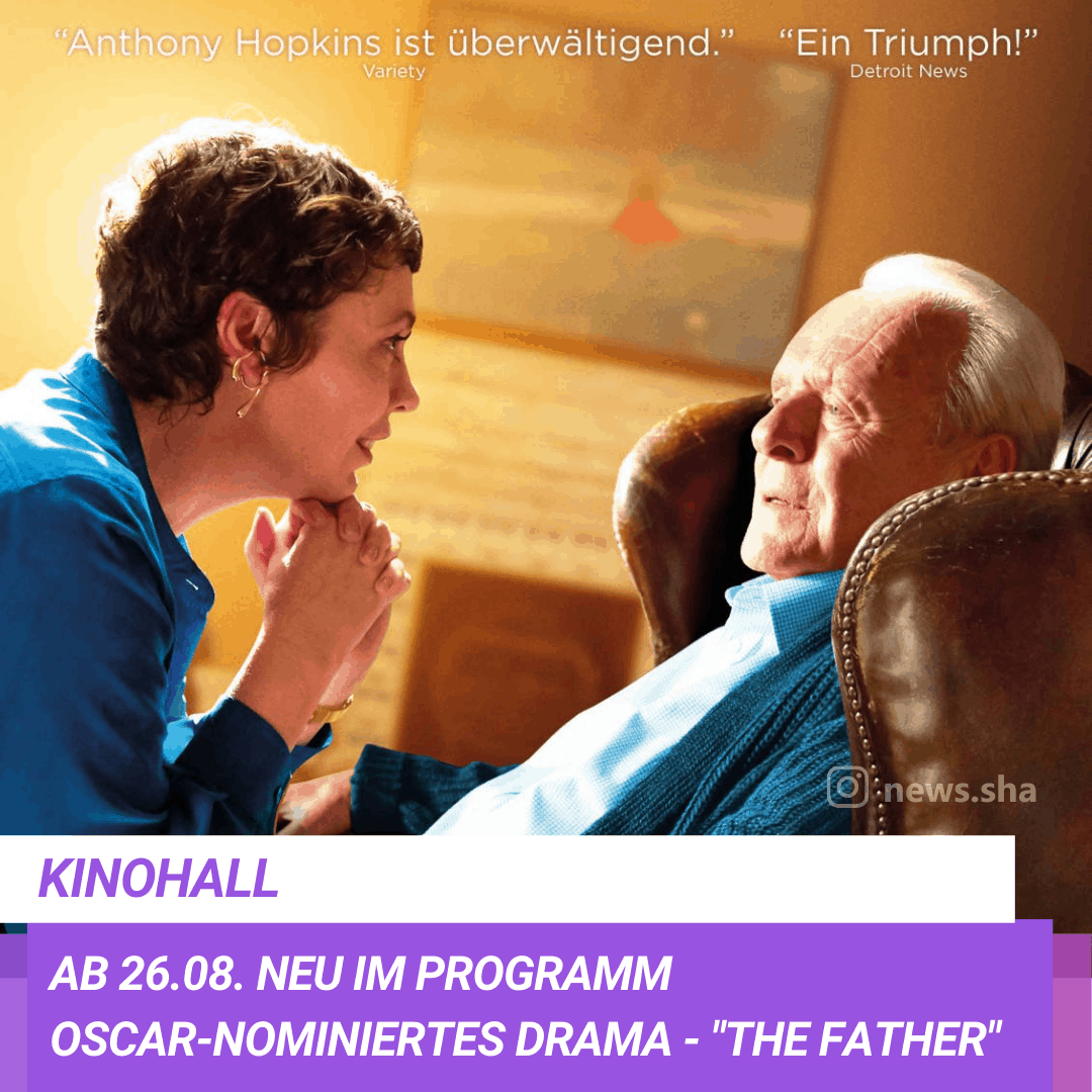 Neuer Kinofilm in Hall: The Father